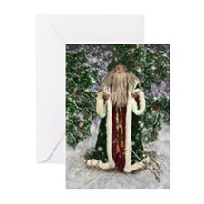 Father Christmas Greeting Cards (Pk of 10)