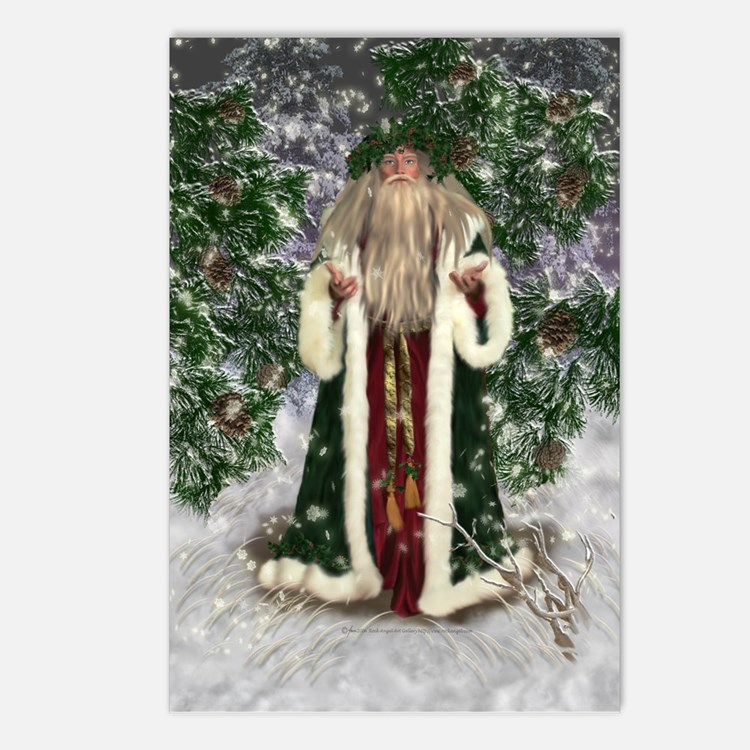Father Christmas Postcards (Package of 8)