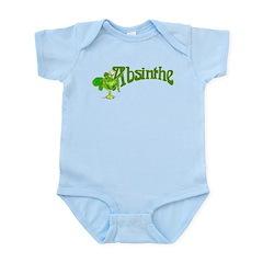 Fairy In Glass Absinthe Infant Bodysuit