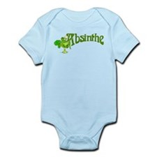 Fairy In Glass Absinthe Infant Bodysuit