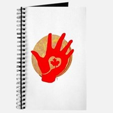 Idle No More - Red Hand and Drum Journal