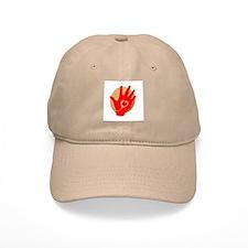 Idle No More - Red Hand and Drum Baseball Baseball Cap