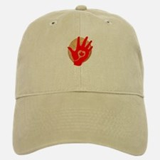 Idle No More - Red Hand and Drum Baseball Baseball Cap