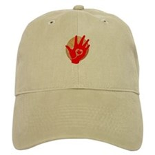 Idle No More - Red Hand and Drum Baseball Cap