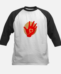 Idle No More - Red Hand and Drum Tee