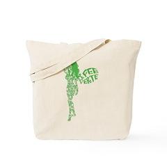 Swirly La Fee Verte Tote Bag