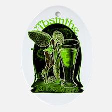 Absinthe Fairy Dark Ornament (Oval)