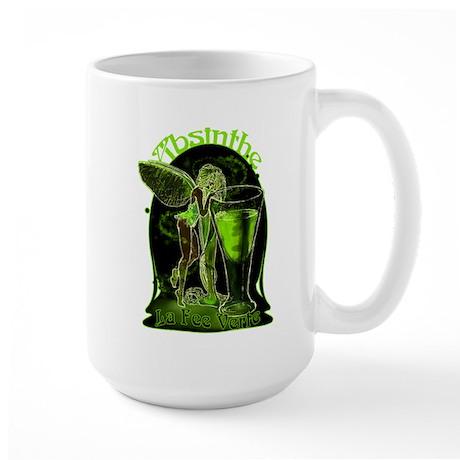 Absinthe Fairy Dark Large Mug