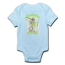 Absinthe Fairy With Glass Infant Bodysuit