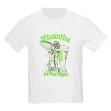 Absinthe Fairy With Glass T-Shirt