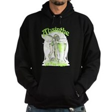 Absinthe Fairy With Glass Hoodie