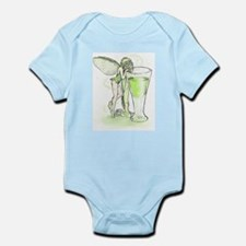Absinthe Fairy Toying With Glass Infant Bodysuit