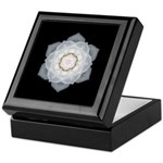 White Rose Keepsake Box