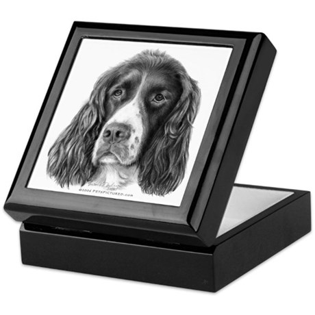 English springer spaniel keepsake box by dogspictured for English springer spaniel coloring pages