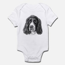 English Springer Spaniel Infant Bodysuit