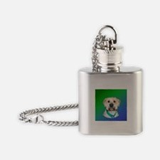 Phoebe the Wheaten Flask Necklace