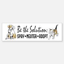 Spay Neuter Adopt Bumper Bumper Sticker