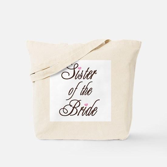 Classy Browns Sister of Bride Tote Bag