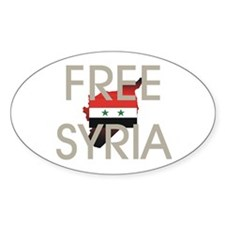 Free Syria Decal
