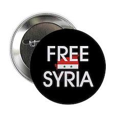 """Free Syria 2.25"""" Button"""
