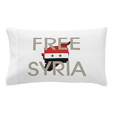 Free Syria Pillow Case