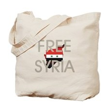 Free Syria Tote Bag