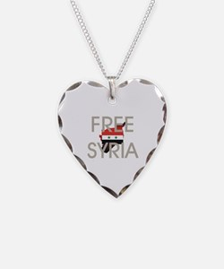 Free Syria Necklace