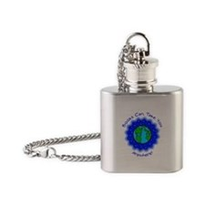 Books Can Take You Flask Necklace