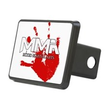 mma blood handprint white text.png Hitch Cover
