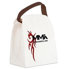 MMA Tribal3.png Canvas Lunch Bag
