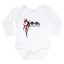 MMA Tribal3.png Long Sleeve Infant Bodysuit