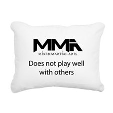MMA Not Play.png Rectangular Canvas Pillow