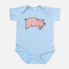 Pink Piggie Infant Bodysuit