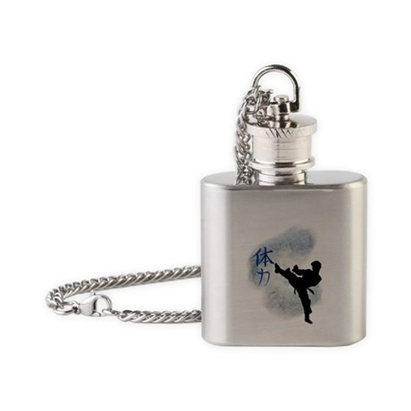 Power Kick 2 Flask Necklace