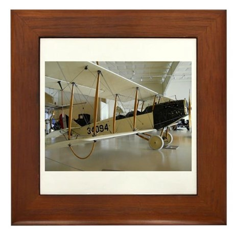 The Jenny Plane Framed Tile