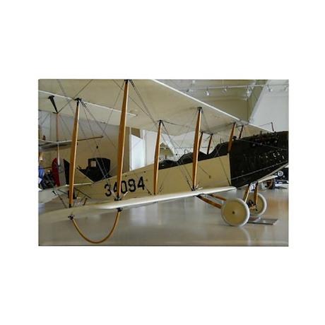 The Jenny Plane Rectangle Magnet