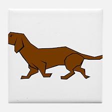 Doxen Dog Tile Coaster
