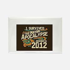 Mayan apocalypse Rectangle Magnet
