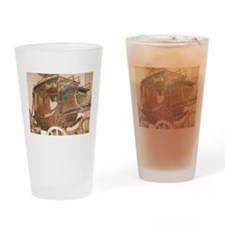 1850 Concord Coach Drinking Glass