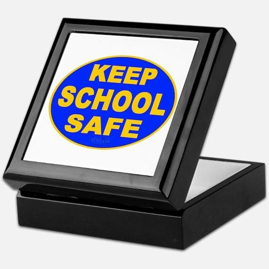 Keep School Safe Keepsake Box