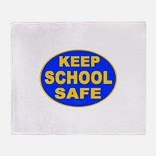 Keep School Safe Throw Blanket