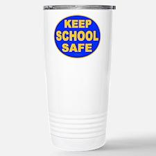 Keep School Safe Stainless Steel Travel Mug