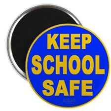"Keep School Safe 2.25"" Magnet (100 pack)"
