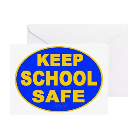 Keep School Safe Greeting Cards (Pk of 10)