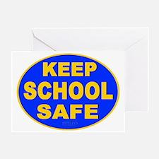 Keep School Safe Greeting Card