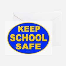 Keep School Safe Greeting Cards (Pk of 20)