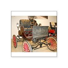 "1895 Carriage Square Sticker 3"" x 3"""
