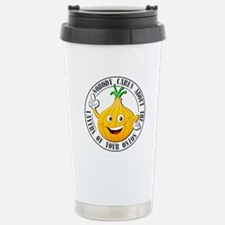 Layers of the Onion Stainless Steel Travel Mug