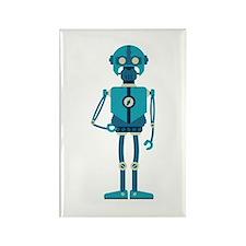 Runner Robot Rectangle Magnet