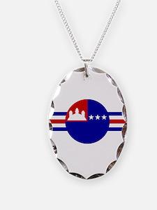 Khmer NAF 1970-1975 roundel Necklace